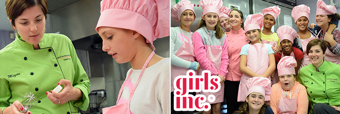 Chef Nicole & Chef Megan Teach Girls from Girls Inc of NH
