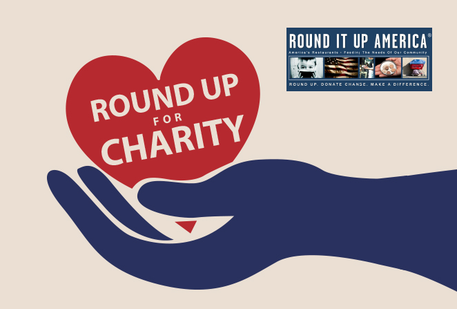 Round Up For Charity